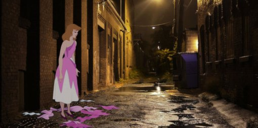 disney-characters-face-reality-for-unhappily-ever-after-designboom-04